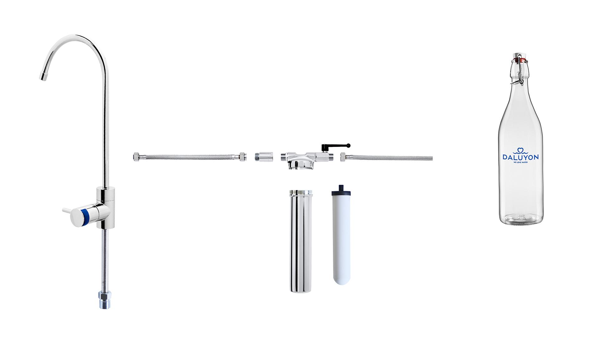 Wasserfilter- und Vitalisierungssystem